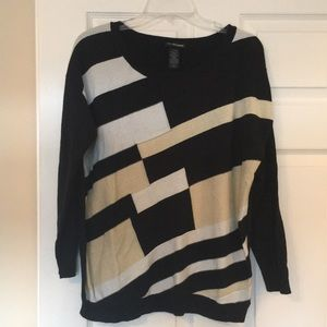 Long sleeve Lane Bryant pullover sweater.